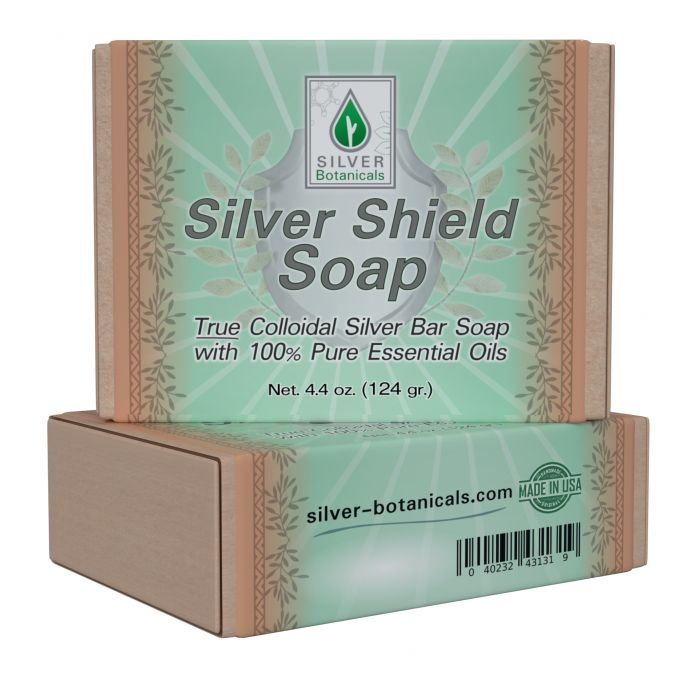 Two-Pack Silver Shield Soap Bar