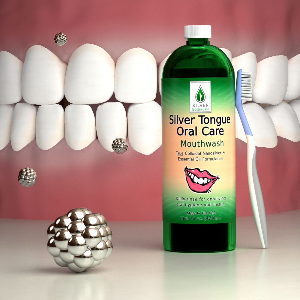 Silver Tongue Oral Care for excellent hygiene