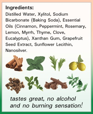 Ingredients column on label