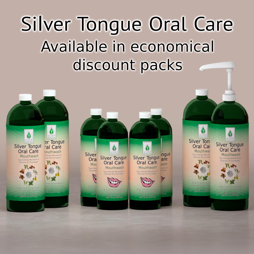 Silver Tongue Oral Care - Save with our value packs