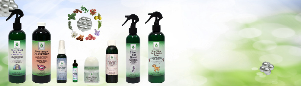 Silver Botanicals Family of Products
